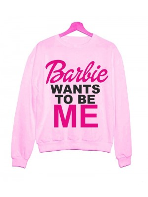 HANORAC GROS BARBIE WANTS TO BE ME