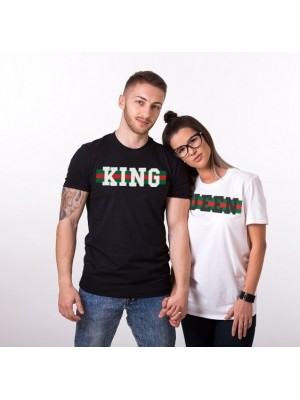 SET TRICOU CUPLU KING QUEEN MODEL3