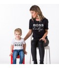 SET TRICOU MAMA SI COPILUL BOSS & MINI BOSS