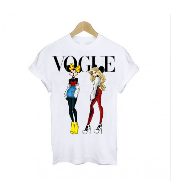 TRICOU DAMA VOGUE MINNIE GIRLS