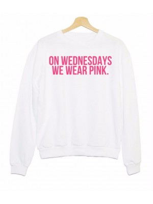HANORAC PUFOS ON WEDNESDAYS WE WEAR PINK