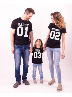 SET TRICOURI FAMILIE MOMMY DADDY BABY