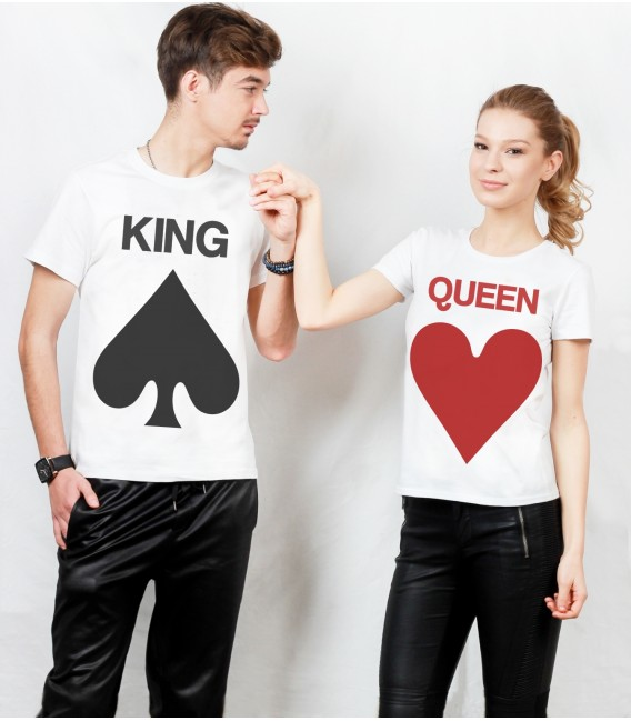 SET BLUZA SUBTIRE KING QUEEN TEDDY