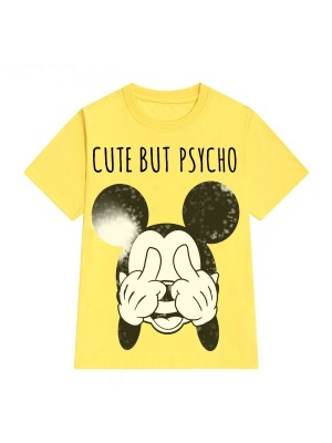 TRICOU LARG DAMA CUTE BUT PSYCHO