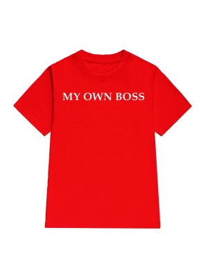 TRICOU LARG DAMA MY OWN BOSS