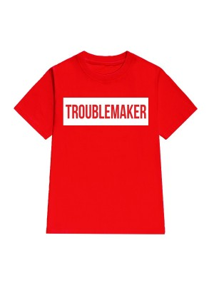 TRICOU LARG DAMA TROUBLEMAKER