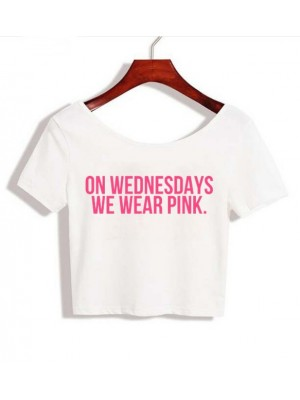 TRICOU ON WEDNESDAYS WE WEAR PINK