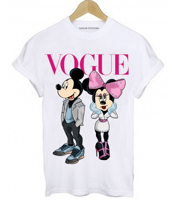 TRICOU DAMA VOGUE MICKEY MINNIE