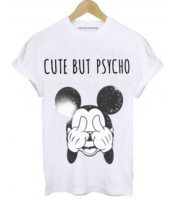 TRICOU DAMA CUTE BUT PSYCHO