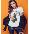 TRICOU DAMA MAKE MONEY NOT FRIENDS