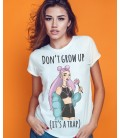 TRICOU DAMA DON'T GROW UP