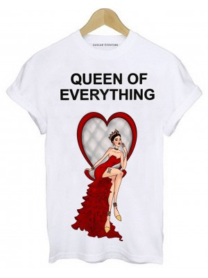 TRICOU DAMA QUEEN OF EVERYTHING