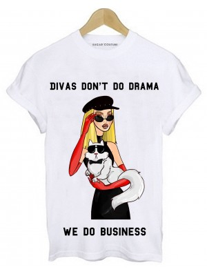 TRICOU DAMA DIVAS DON'T DO DRAMA