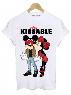 TRICOU DAMA KISSABLE