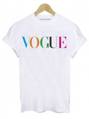 TRICOU SCURT DAMA VOGUE COLORS