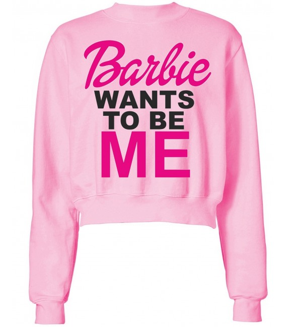 HANORAC SCURT BARBIE WANTS TO BE ME