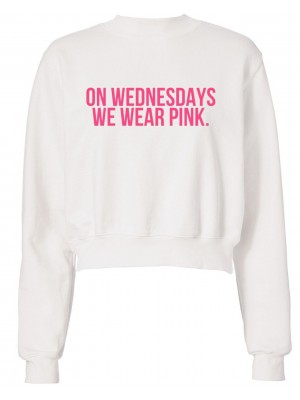 HANORAC SCURT ON WEDNESDAYS WE WEAR PINK