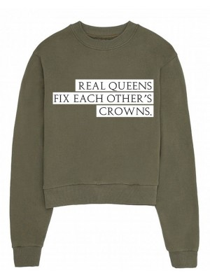 Bluza dama kaki Real Queens
