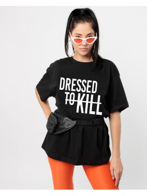 TRICOU LARG DAMA DRESSED TO KILL