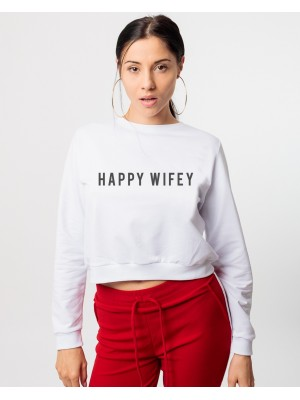 HANORAC SCURT HAPPY WIFEY