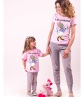 SET TRICOU MAMA FIICA BRUNETTES HAVE MORE FUN
