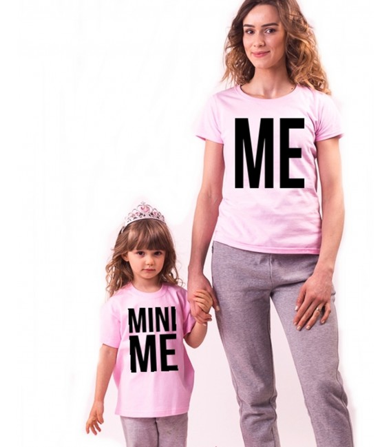 SET TRICOU MAMA SI COPILUL ME & MINI ME