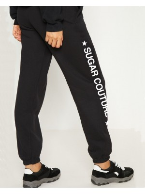 Pantaloni largi sport Sugar Couture Star