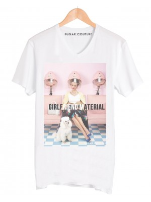 Tricou dama Girlfriend Material