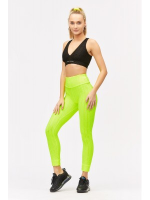 Colanti neon cu efect anticelulitic si push up Sugar Couture